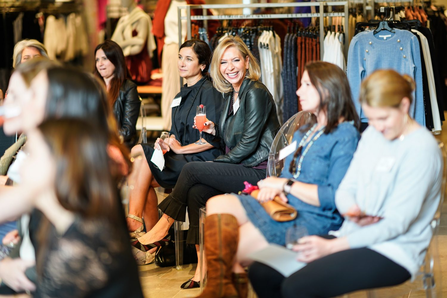 Womens Philanthropy fundraising and social event at Neiman Marcus