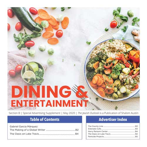 Dining Entertainment 2020 Cover
