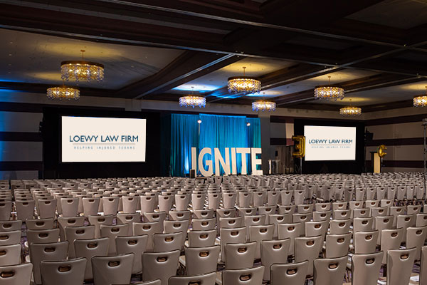 IGNITE Sponsor Slide Stage