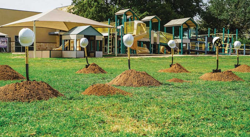 Ground Breaking Hats Shovels