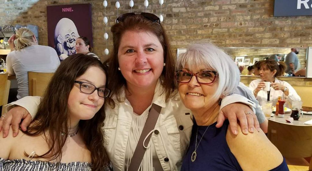 Dana Shapiro Spaeth Mother Daughter