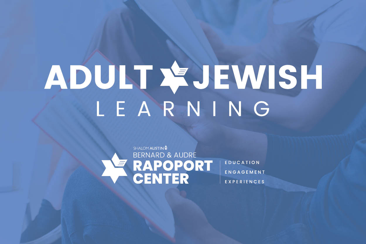 Adult Jewish Learning