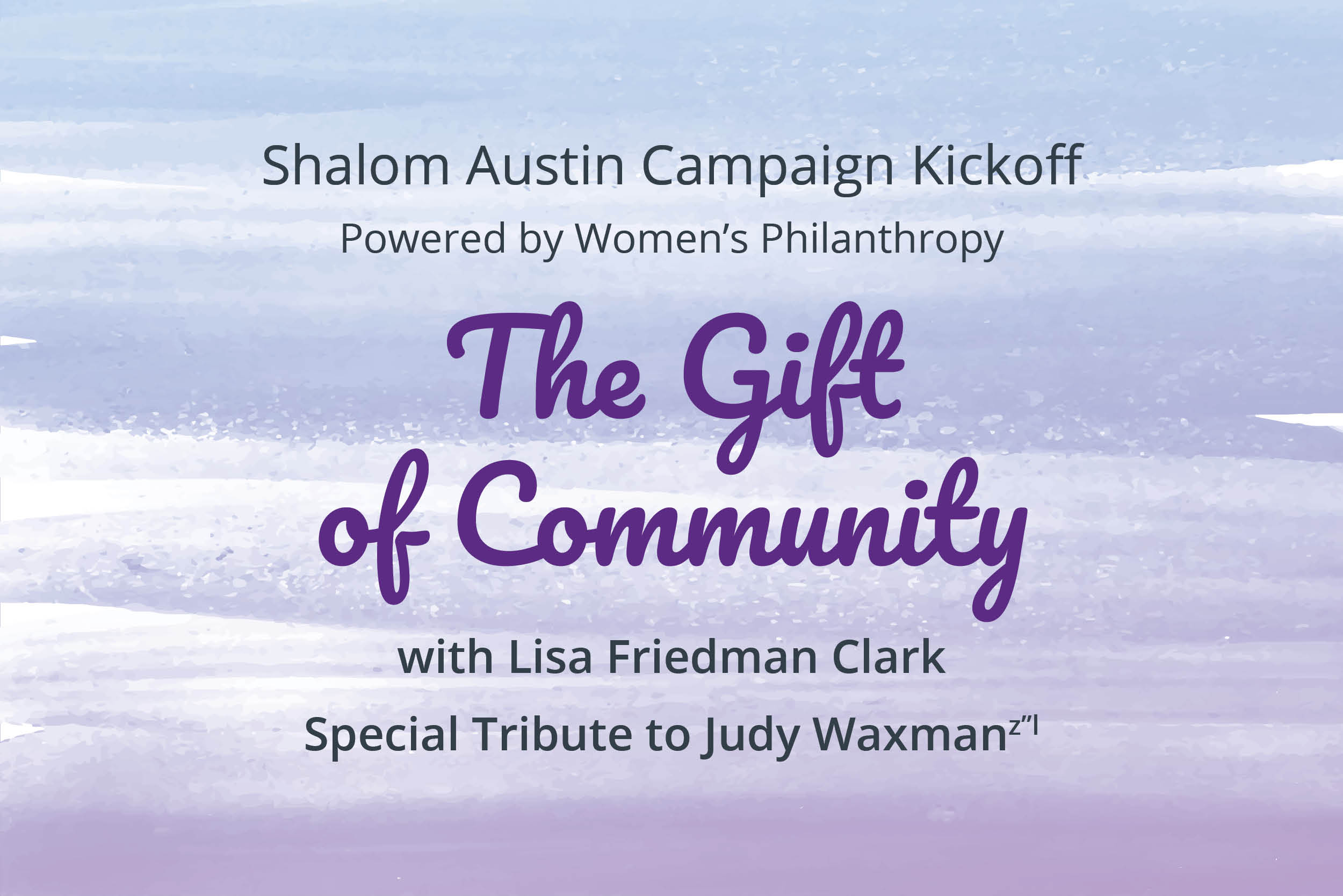 The Gift of Community logo