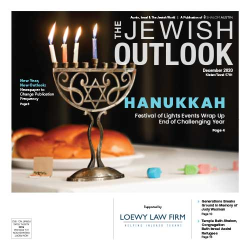 Jewish Outlook December 2020 Cover