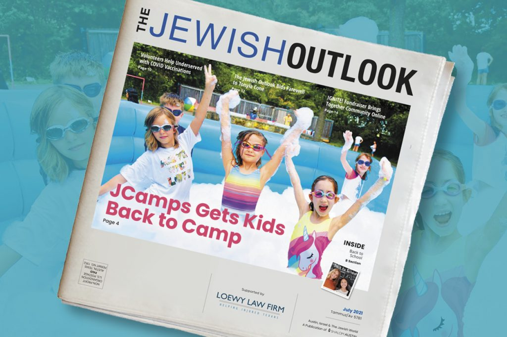 The Jewish Outlook July 2021 Edition