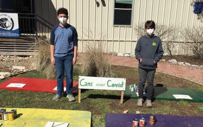 Austin Jewish Academy Practices Sustainability While Feeding Those in Need with Cans Against COVID