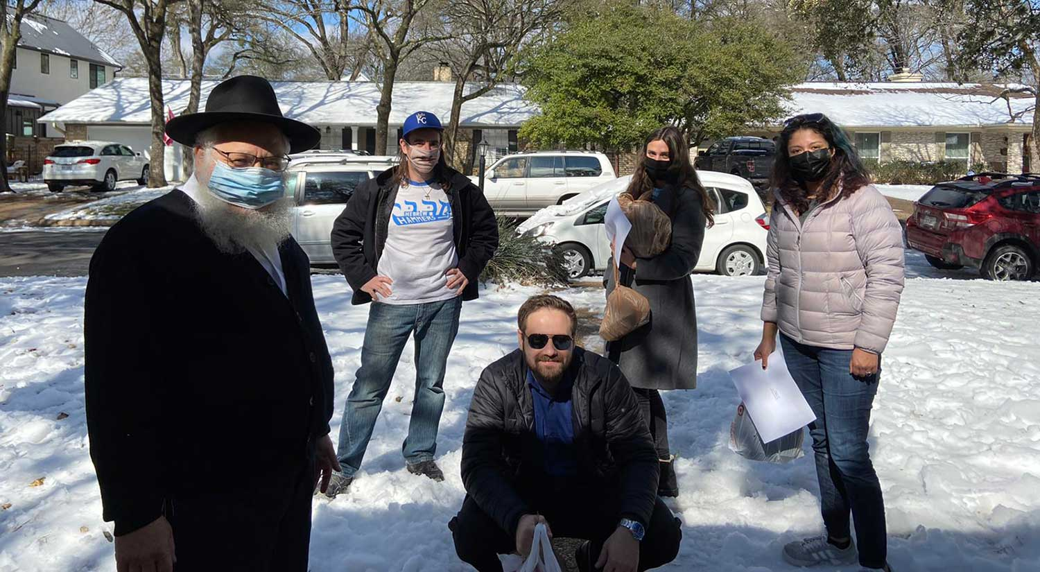 Chabad Winter Storm