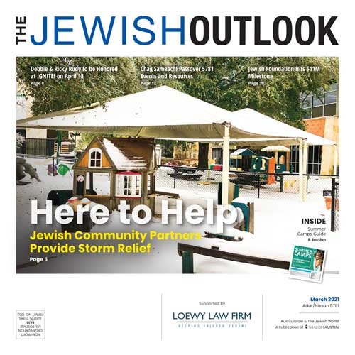 Jewish Outlook March 2021 Cover