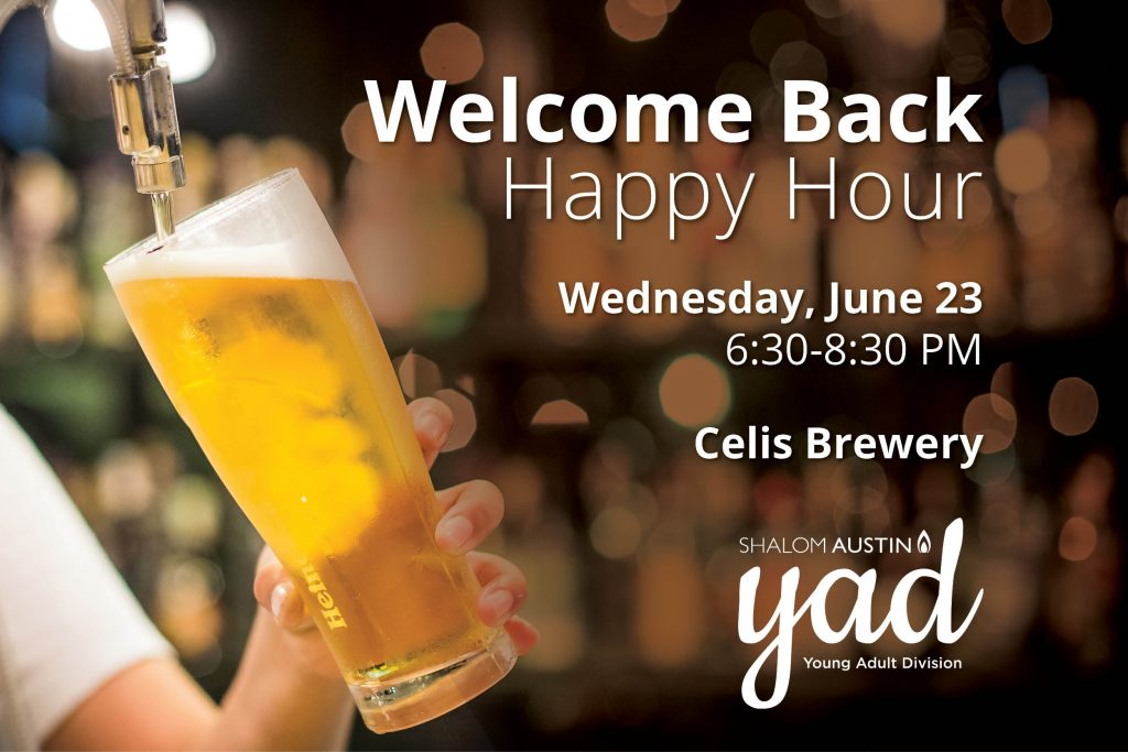 YAD Welcome Back Happy Hour