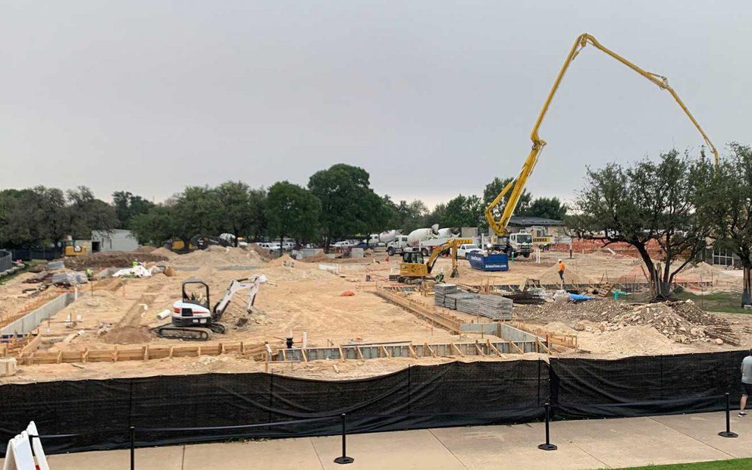Shalom Austin JCC New Pool and Tennis Courts Start to Take Shape