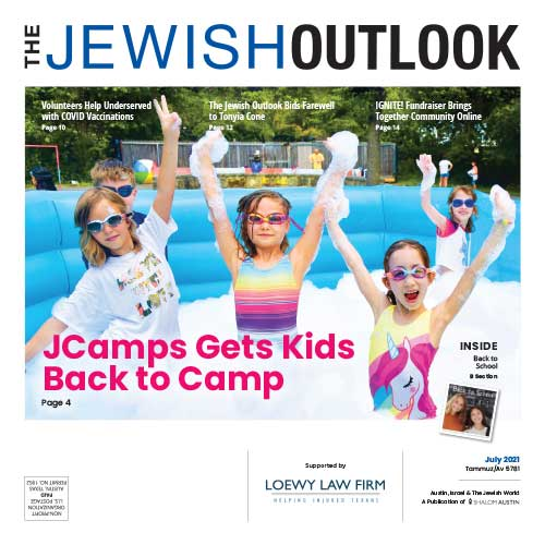 Jewish Outlook July 2021 Cover