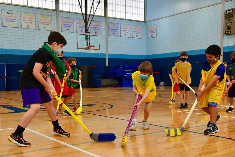 Kids Connection Gym Hockey